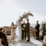 This late summer boho wedding at Torrey Pines Reserve had an incredible view of the ocean.