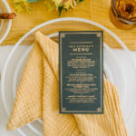 This French style fold is just one stylish napkin folding idea to dress up a simple tablescape.