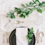 The Angled Single Pocket Fold works well for a classic or modern place setting.