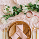 This Geometric Knot Fold is a stylish napkin folding idea.